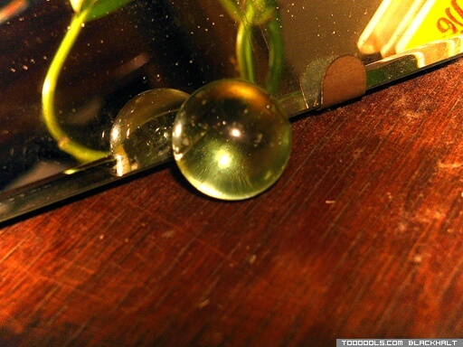Crystal ball looking-glass
