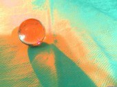 Crystal ball orange