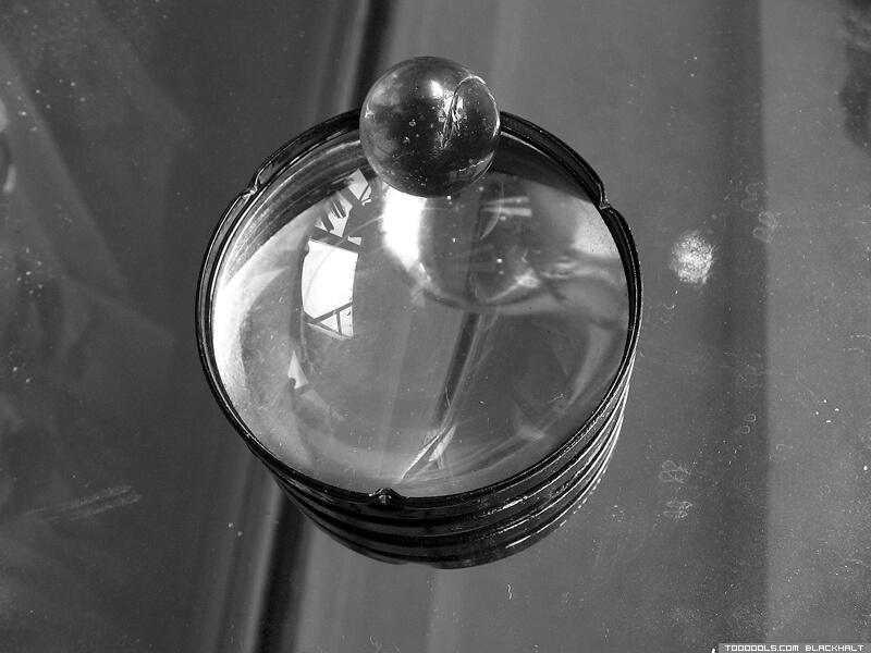 Lens, Crystal ball, reflection, grey