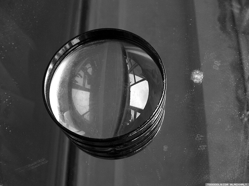 Lens, reflection, grey