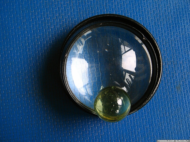 Two lenses, Crystal ball