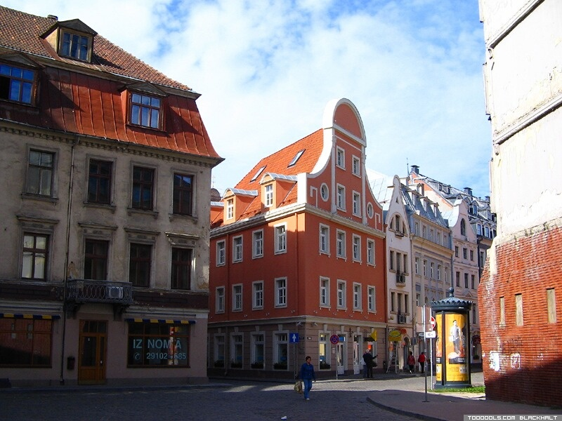 Old Riga streets