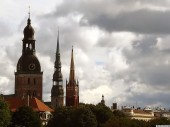 Church towers of Old Riga, 4