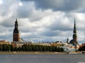 Daugava, Dome Church, St Peter`s Church