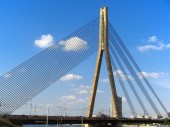 Vansu Tilts, Cable bridge, 2