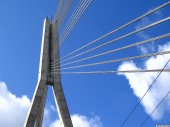 Vansu Tilts, Vansu Bridge, Cable bridge