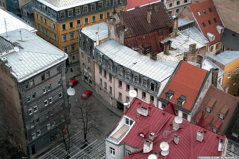 Roofs of Old Riga